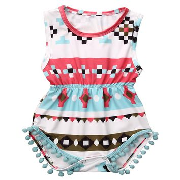 Newborn Baby Girls Clothes Tops Rompe Floral Bodysuit Ruffles Cute Multicolor Outfits Sunsuit Clothing Baby Girl