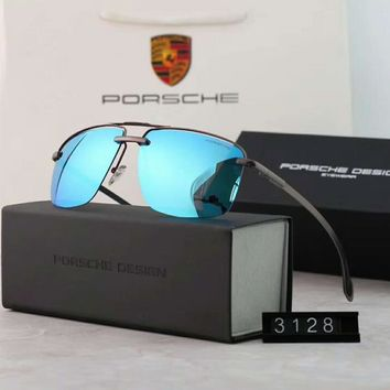 One-nice™ Porsche Couples with color film polarizing sunglasses Blue I-A-SDYJ