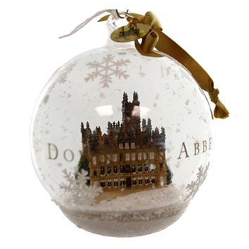 Holiday Ornaments Downton Abbey Ornament Glass Ornament