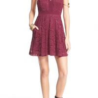 Free People 'Lace Lovely' Fit & Flare Dress | Nordstrom