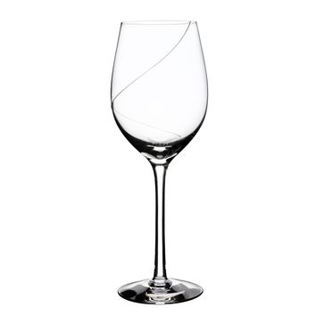 Line White Wine Glasses - Set of 2