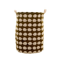 Cute Hedgehog Foldable Laundry Basket Storage Bag Practical Hamper Bag