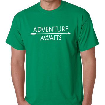 Adventure Awaits Crewneck Tee