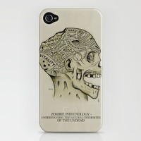 Zombie Phrenology iPhone Case by Andy Pitts | Society6