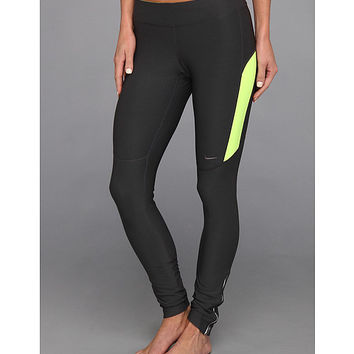 Nike Filament Tight Anthracite/Volt/Volt/Matte Silver - Zappos.com Free Shipping BOTH Ways