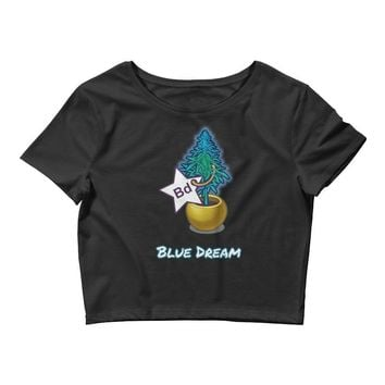 Blue Dream Crop Tee