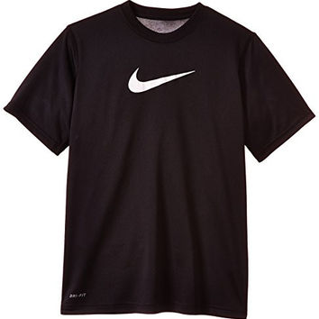 Boy's Nike Legend Dry Training T-Shirt Black/White Size Medium