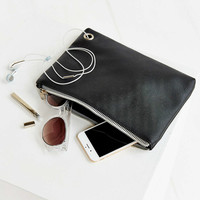 Saffiano Medium Pouch - Urban Outfitters