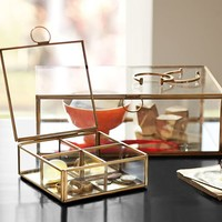 CALLIE GLASS DESK BOXES