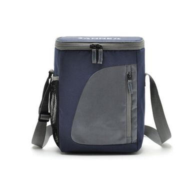 8.8L Thermal Cooler Insulated Waterproof Lunch Box Storage Picnic Bag Pouch Portable Insulated Lunchbag Cooler Bags