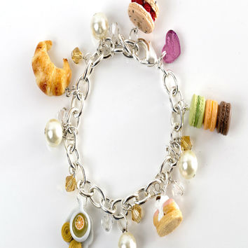 Take Me to Paris Charm Bracelet