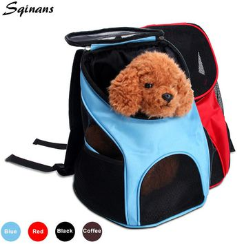 Breathable Pet Backpack Outdoor Travel Pet Carrier