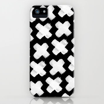 Black xxx iPhone & iPod Case by Grace