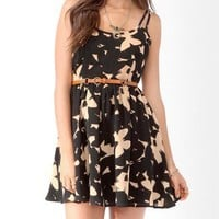 Butterfly Silhouette Dress