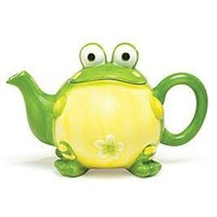 Adorable Toby the Toad/Frog Teapot For Kitchen Decor