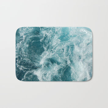 Sea Bath Mat by Vickn