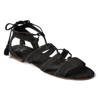 Suede gladiator sandals | Gap