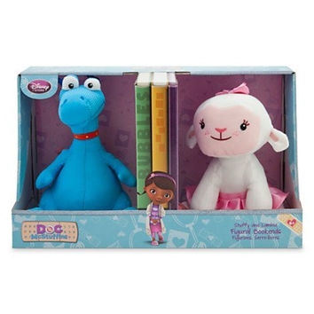 "DISNEY Stuffy and Lambie Figural 8"" Bookends - Doc McStuffins"