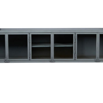 """Cisco Brothers, Isaac 96"""" Low Credenza, Bar Cabinets"""
