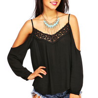 Bridge Crochet Top | Lace Tops at Pinkice.com