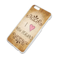 I Heart Love New Zealand Vintage iPhone 6 Slim Fit Case
