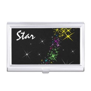 Christmas Star Business Card Holder