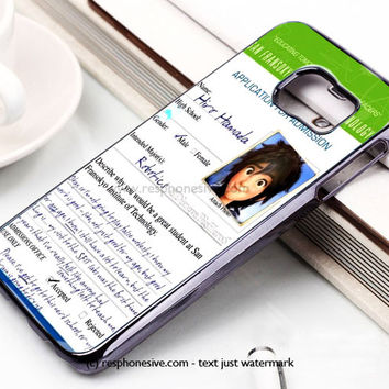 Hiro Hamada Big Hero Samsung Galaxy S6 and S6 Edge Case
