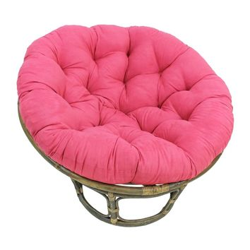 Decker Rattan Papasan Chair