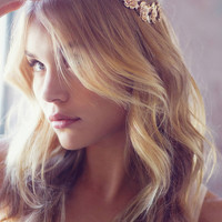 Golden Flower Halo Headband | Urban Outfitters