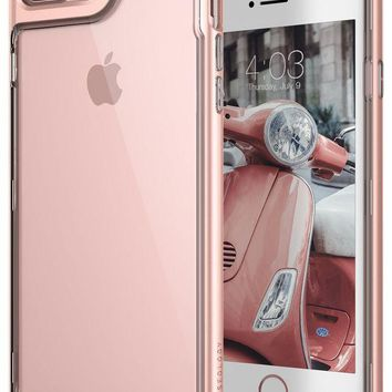 VONEXO9 iPhone 7 Plus Case, Caseology [Skyfall Series] Transparent Clear Slim Scratch Resistant Cover Drop Protection for Apple iPhone 7 Plus (2016) - Rose Gold