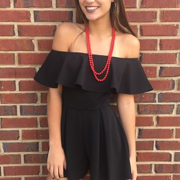 One & Only Romper - Black