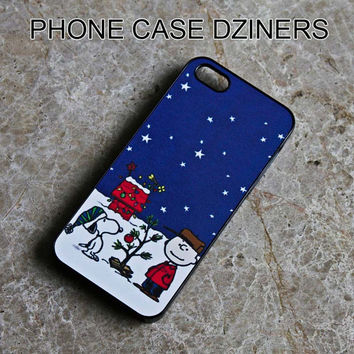 iPhone 4s case iPhone 4 case iPhone 5 case Iphone 5s case Charlie and snoopy