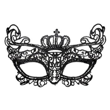 Sexy Lace Eye Mask Women/Girls Evening Party/Prom/Masquerade Mask- Crowne