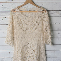 Farah Lace Top