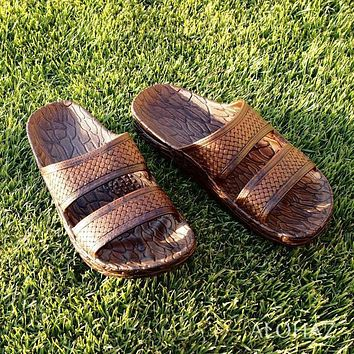 brown jon jandals® - pali hawaii sandals
