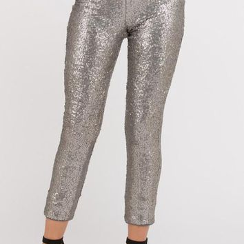 Full Length Sequin Pants (More Colors)