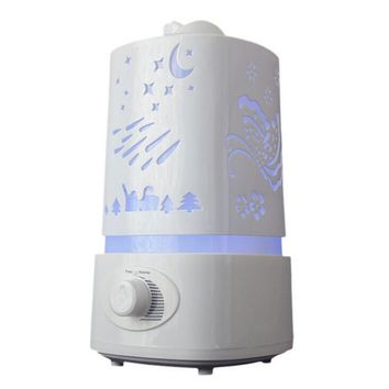Ultrasonic Air Humidifier Fogger LED Lamp Oil Aroma Diffuser Mist Maker Aromatherapy Diffuser Air Cleaner Nebulizer Vaporizer