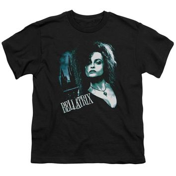 Harry Potter - Bellatrix Closeup Short Sleeve Youth 18/1 Shirt Officially Licensed T-Shirt