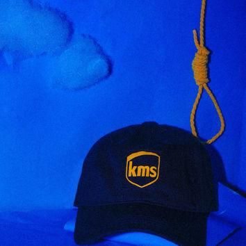 KMS Hat, Dad Halloween Fall Noose Horror Occult Photo Art Winter Costume Mask Vetement