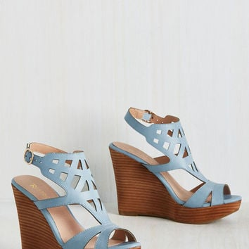 You Art to Know Wedge | Mod Retro Vintage Heels | ModCloth.com