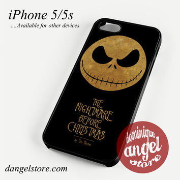 The Nightmare Before Christmas By Tim Burton Phone case for iPhone 4/4s/5/5c/5s/6/6s/6 plus