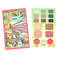 New Hot Brand The Balm Makeup Multi-function Eye Shadow+Blusher+Lipstick Face Palette Balm Voyage Vol.2 Eyeshadow Cosmetics