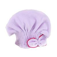 Newly Textile Useful Dry Microfiber Turban Quick Hair Hats Towels Bathing Shower cap