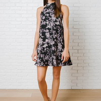 Hadlee High-Neck Dress-FINAL SALE
