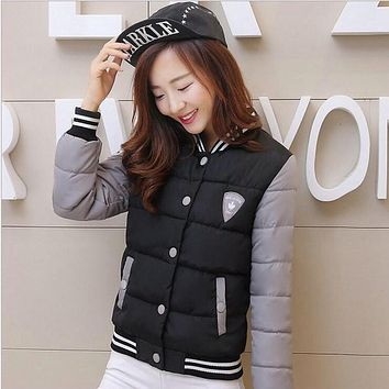 Winter Jacket Women 2016 New Fashion Casual Coats Women Quilted Jackets Thick Warm Padding Polyester Coats YRF117