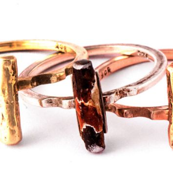 Change Ring Triple Stack Ring by Legacy Collection