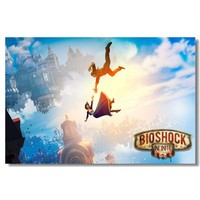 Bioshock Infinite - Silk Game Poster