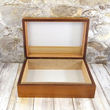 Mid Century Cigar Humidor by Decatur Industries