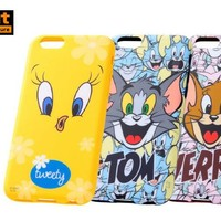 Strapya World : American Cartoons Close-Up Soft Case for iPhone 6 (Jerry)