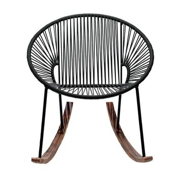 Chapultepec Rocking Chair in PVC Cord